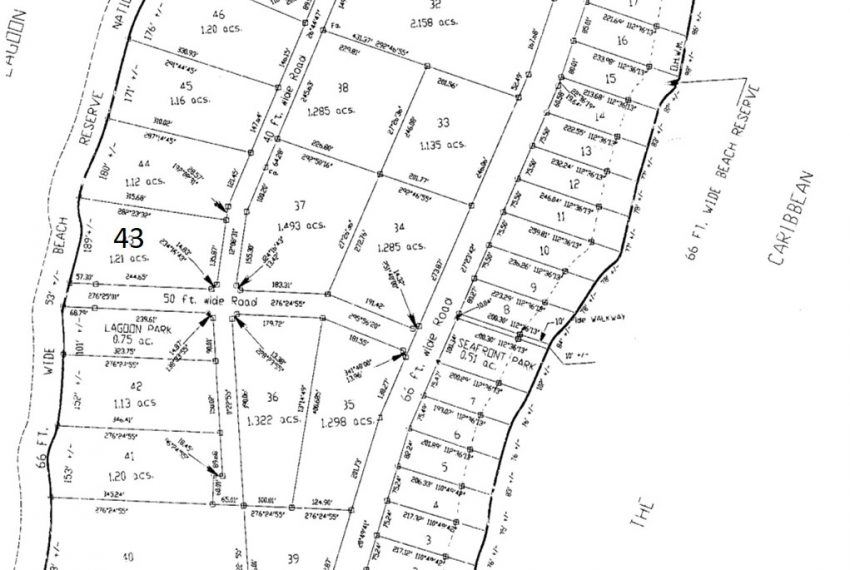 Surfside-Lot-Survey-Plan